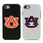 Guard Dog Auburn Tigers Hybrid Phone Case for iPhone 7/8 with Guard Glass Screen Protector