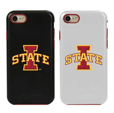 Guard Dog Iowa State Cyclones Hybrid Phone Case for iPhone 7/8 with Guard Glass Screen Protector