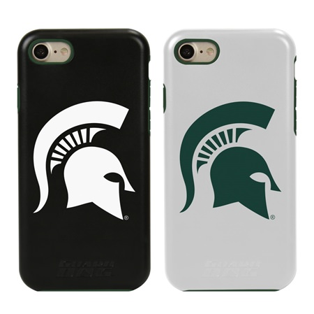 Guard Dog Michigan State Spartans Hybrid Phone Case for iPhone 7/8/SE