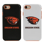Guard Dog Oregon State Beavers Hybrid Phone Case for iPhone 7/8 with Guard Glass Screen Protector