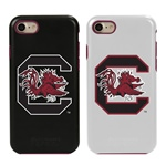 Guard Dog South Carolina Gamecocks Hybrid Phone Case for iPhone 7/8 with Guard Glass Screen Protector