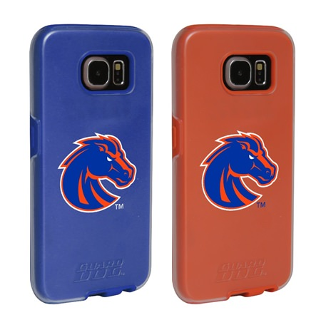 Boise State Broncos Fan Pack (2 Cases)  for Samsung Galaxy S6 with Guard Glass Screen Protector