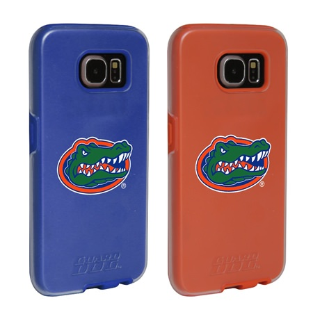 Florida Gators Fan Pack (2 Cases)  for Samsung Galaxy S6 with Guard Glass Screen Protector