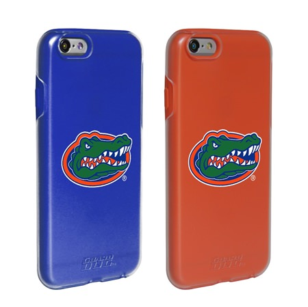 Florida Gators Fan Pack (2 Cases)  for iPhone 6 / 6s with Guard Glass Screen Protector