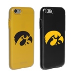 Guard Dog Iowa Hawkeyes Fan Pack (2 Phone Cases) for iPhone 6 / 6s with Guard Glass Screen Protector