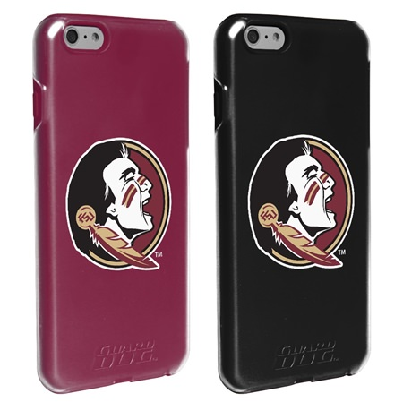 Guard Dog Florida State Seminoles Fan Pack (2 Phone Cases) for iPhone 6 Plus / 6s Plus with Guard Glass Screen Protector