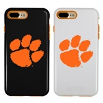 Guard Dog Clemson Tigers Hybrid Phone Case for iPhone 7 Plus/8 Plus with Guard Glass Screen Protector