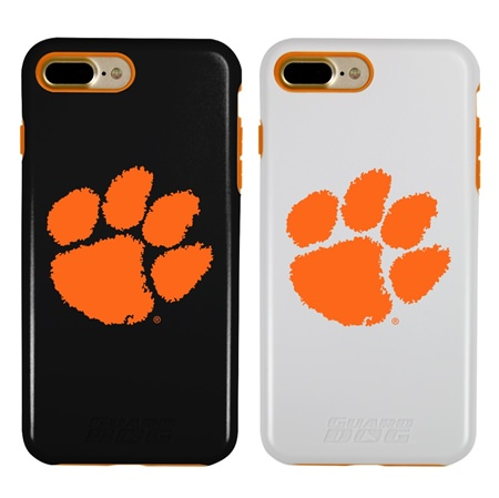 Guard Dog Clemson Tigers Hybrid Phone Case for iPhone 7 Plus/8 Plus