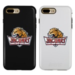 IUPUI Jaguars Guard Dog® Hybrid Case for iPhone 7 Plus/8 Plus with Guard Glass Screen Protector