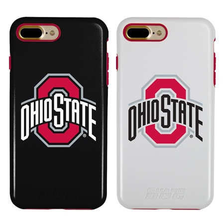 Guard Dog Ohio State Buckeyes Hybrid Phone Case for iPhone 7 Plus/8 Plus with Guard Glass Screen Protector