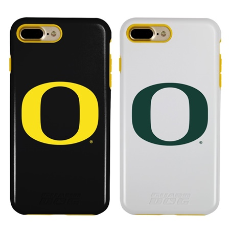 Guard Dog Oregon Ducks Hybrid Phone Case for iPhone 7 Plus/8 Plus