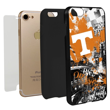 Guard Dog Tennessee Volunteers PD Spirit Hybrid Phone Case for iPhone 7/8 with Guard Glass Screen Protector