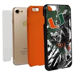 Guard Dog U Miami Hurricanes PD Spirit Hybrid Phone Case for iPhone 7/8/SE