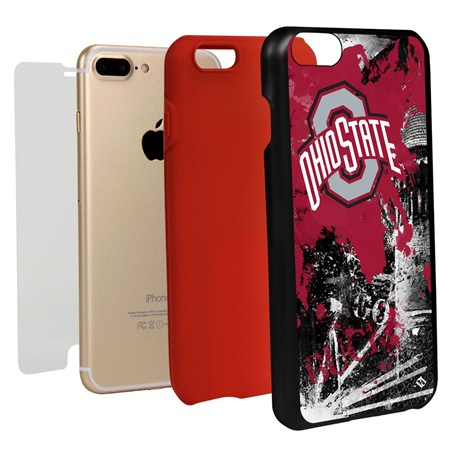 Guard Dog Ohio State Buckeyes PD Spirit Hybrid Phone Case for iPhone 7 Plus/8 Plus