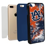 Guard Dog Auburn Tigers PD Spirit Hybrid Phone Case for iPhone 7 Plus/8 Plus with Guard Glass Screen Protector