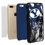 Guard Dog BYU Cougars PD Spirit Hybrid Phone Case for iPhone 7 Plus/8 Plus with Guard Glass Screen Protector