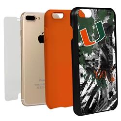 Guard Dog U Miami Hurricanes PD Spirit Hybrid Phone Case for iPhone 7 Plus/8 Plus