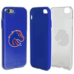 Guard Dog Boise State Broncos Clear Hybrid Phone Case for iPhone 7/8 with Guard Glass Screen Protector