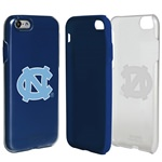 Guard Dog North Carolina Tar Heels Clear Hybrid Phone Case for iPhone 7/8 with Guard Glass Screen Protector