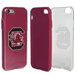 Guard Dog South Carolina Gamecocks Clear Hybrid Phone Case for iPhone 7/8/SE
