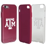 Guard Dog Texas A&M Aggies Clear Hybrid Phone Case for iPhone 7/8 with Guard Glass Screen Protector