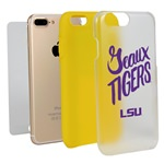 Guard Dog LSU Tigers Geaux Tigers Clear Hybrid Phone Case for iPhone 7 Plus/8 Plus