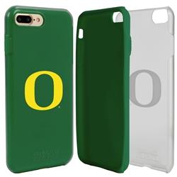 Guard Dog Oregon Ducks Clear Hybrid Phone Case for iPhone 7 Plus/8 Plus