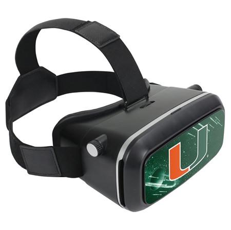 U Miami Hurricanes VR-100 VR Headset