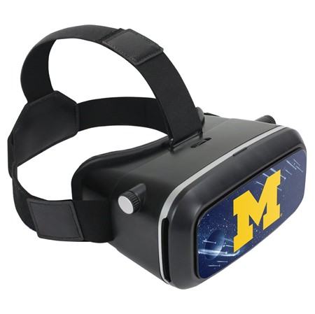 Michigan Wolverines VR-100 VR Headset