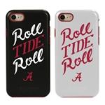 Guard Dog Alabama Crimson Tide Roll Tide Roll Hybrid Phone Case for iPhone 7/8/SE