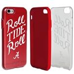 Guard Dog Alabama Crimson Tide Roll Tide Roll Clear Hybrid Phone Case for iPhone 7/8/SE