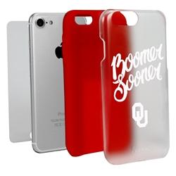 Guard Dog Oklahoma Sooners - Boomer Sooner Clear Hybrid Phone Case for iPhone 7/8/SE
