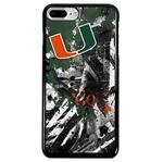 Guard Dog U Miami Hurricanes PD Spirit Phone Case for iPhone 7 Plus/8 Plus