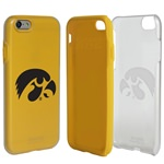 Guard Dog Iowa Hawkeyes Clear Hybrid Phone Case for iPhone 7/8 with Guard Glass Screen Protector