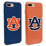 Guard Dog Auburn Tigers Fan Pack (2 Phone Cases) for iPhone 7 Plus/8 Plus with Guard Glass Screen Protector