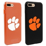 Guard Dog Clemson Tigers Fan Pack (2 Phone Cases) for iPhone 7 Plus/8 Plus with Guard Glass Screen Protector