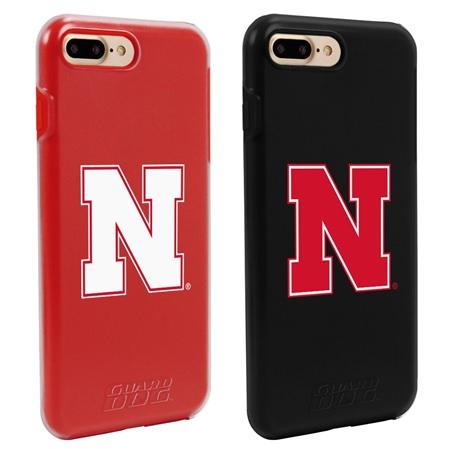 Guard Dog Nebraska Cornhuskers Fan Pack (2 Phone Cases) for iPhone 7 Plus/8 Plus