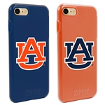 Guard Dog Auburn Tigers Fan Pack (2 Phone Cases) for iPhone 7/8 with Guard Glass Screen Protector