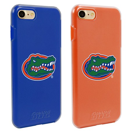 Florida Gators Fan Pack (2 Cases) for iPhone 7/8 with Guard Glass Screen Protector