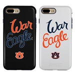 Guard Dog Auburn Tigers War Eagle Hybrid Phone Case for iPhone 7 Plus/8 Plus