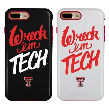 Guard Dog Texas Tech Red Raiders Wreck 'em Tech Hybrid Phone Case for iPhone 7 Plus/8 Plus