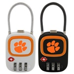 Clemson Tigers TSA Combination Lock