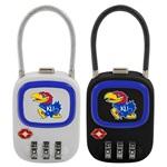 Kansas Jayhawks TSA Combination Lock