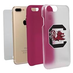 Guard Dog South Carolina Gamecocks Clear Hybrid Phone Case for iPhone 7 Plus/8 Plus