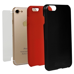 Guard Dog Hybrid Phone Case for iPhone 7/8/SE - Black