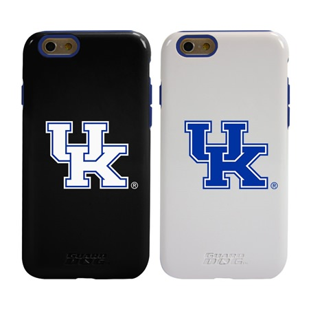 Guard Dog Kentucky Wildcats Hybrid Phone Case for iPhone 6 / 6s with Guard Glass Screen Protector
