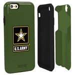 US ARMY Logo Hybrid Case for iPhone 6 with Guard Glass Screen Protector