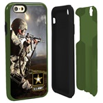 US ARMY Full Print Hybrid Case for iPhone 6 with Guard Glass Screen Protector