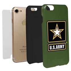 Guard Dog US ARMY Logo Hybrid Phone Case for iPhone 7/8/SE