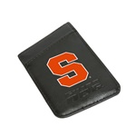 Syracuse Orange Card Keeper Leather Phone Wallet with RFID Protection